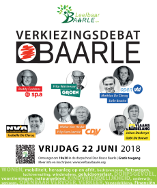 Affiche Verkiezingsdebat_600